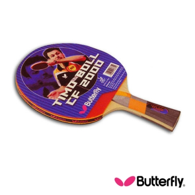 Butterfly  貼皮負手板 TIMO BOLL CF-2000