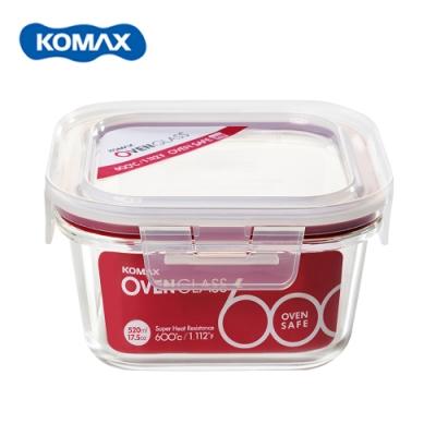 [Komax]扣美斯耐熱玻璃正型保鮮盒(烤箱.微波爐可用)520ml