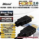 【iNeno】HDMI High Speed 超高畫質圓形傳輸線 2.0版-2M