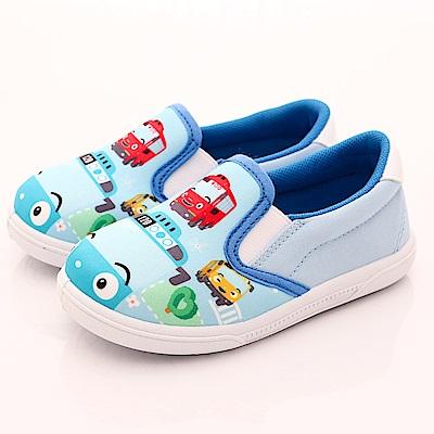 TAYO小巴士童鞋 印花休閒鞋款 EI3604藍(中小童段)