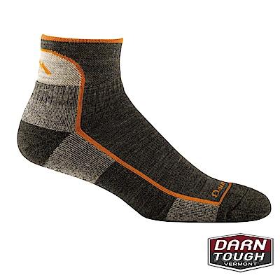 【美國DARN TOUGH】男羊毛襪HIKER 1/4健行襪(2入隨機)