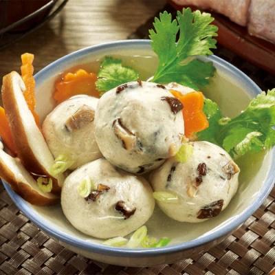 海瑞摃丸 香菇雞肉摃丸(600g±10g/包,共2包)