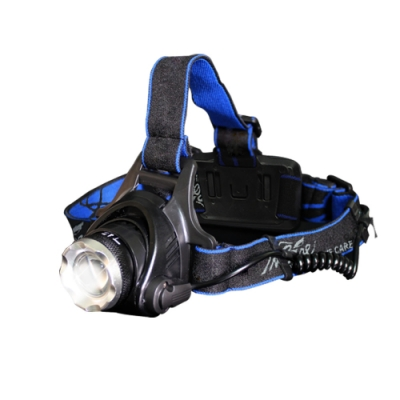 (贈18650電池/充電線)Incare 超強光通量-U3奈米強登變焦頭燈套[限時搶]