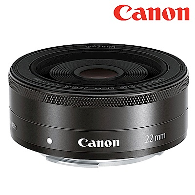 Canon EF-M 22mm F2.0 STM 定焦鏡 (平行輸入)彩盒