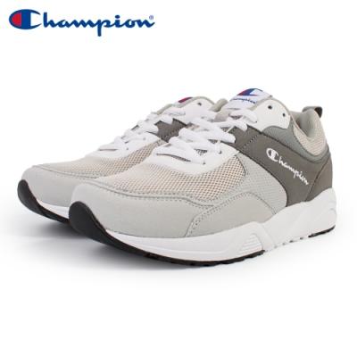 【Champion】TRACE BACK 復古運動鞋 女鞋-灰(WFUS-9020-02)