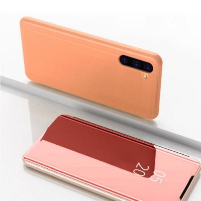 三星 Galaxy Note 10 輕巧 鏡面透光 翻蓋 立架 手機殼 (Samsung Note10手機殼 Note10保護殼 )