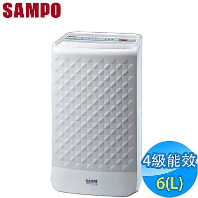 SAMPO聲寶6L空氣清淨除濕機 AD-BD121FT