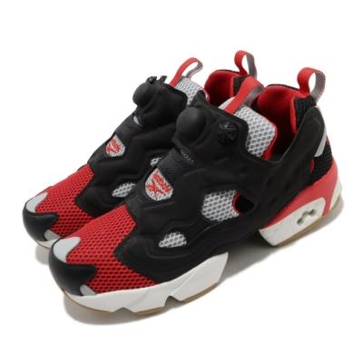Reebok 休閒鞋 Instapump Fury OG 男女鞋 經典款 襪套 充氣科技 情侶穿搭 球鞋 黑 紅 FV1571