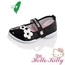 Hello Kitty童鞋 輕量減壓抗菌防臭幼稚園室內室外娃娃鞋 黑