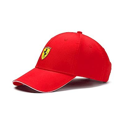 PUMA-男女Ferrari Lifestyle系列棒球帽-法拉利紅
