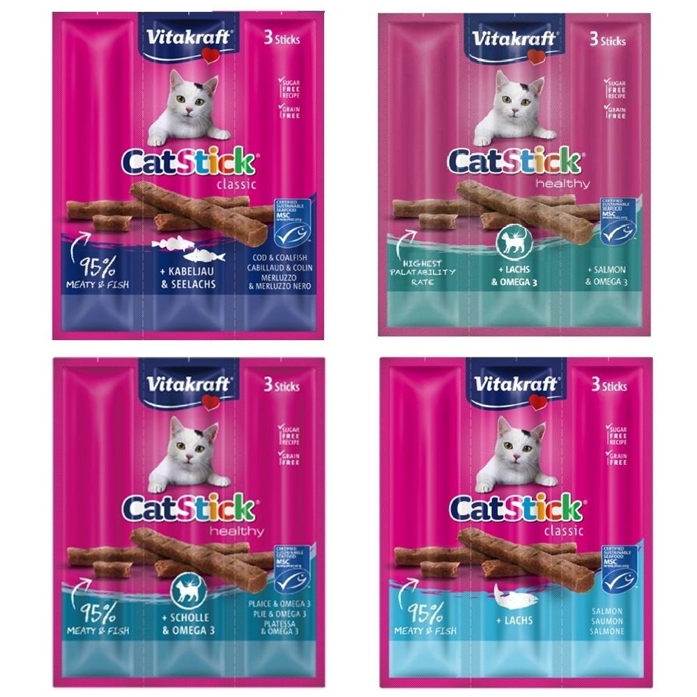 德國Vitakraft CatStick貓快餐 20包(18g三條/包)