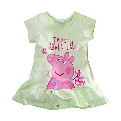 粉紅豬佩佩純棉連身裙 k51096 魔法Baby