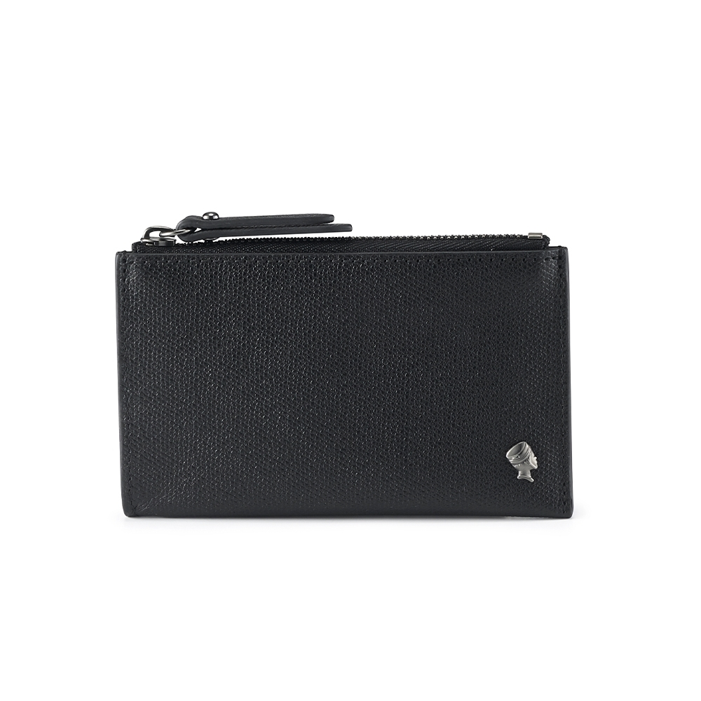 PORTER - 個性主宰LOGIC兩用卡夾/零錢包 - 黑