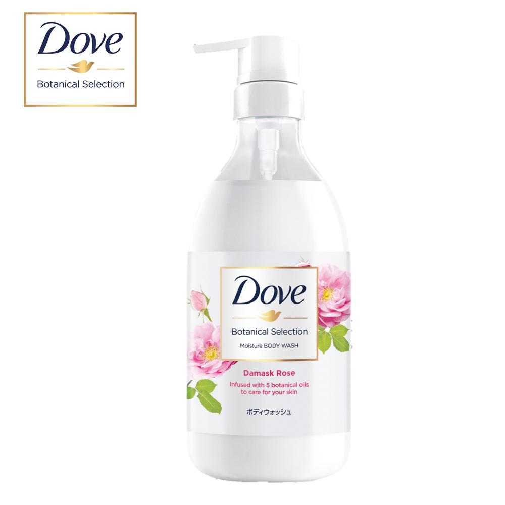 DOVE 多芬 日本植萃沐浴乳 粉玫瑰光滑水潤 500G