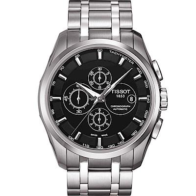 TISSOT天梭 Couturier系列 機械計時腕錶 T0356271105100 @ Y!購物