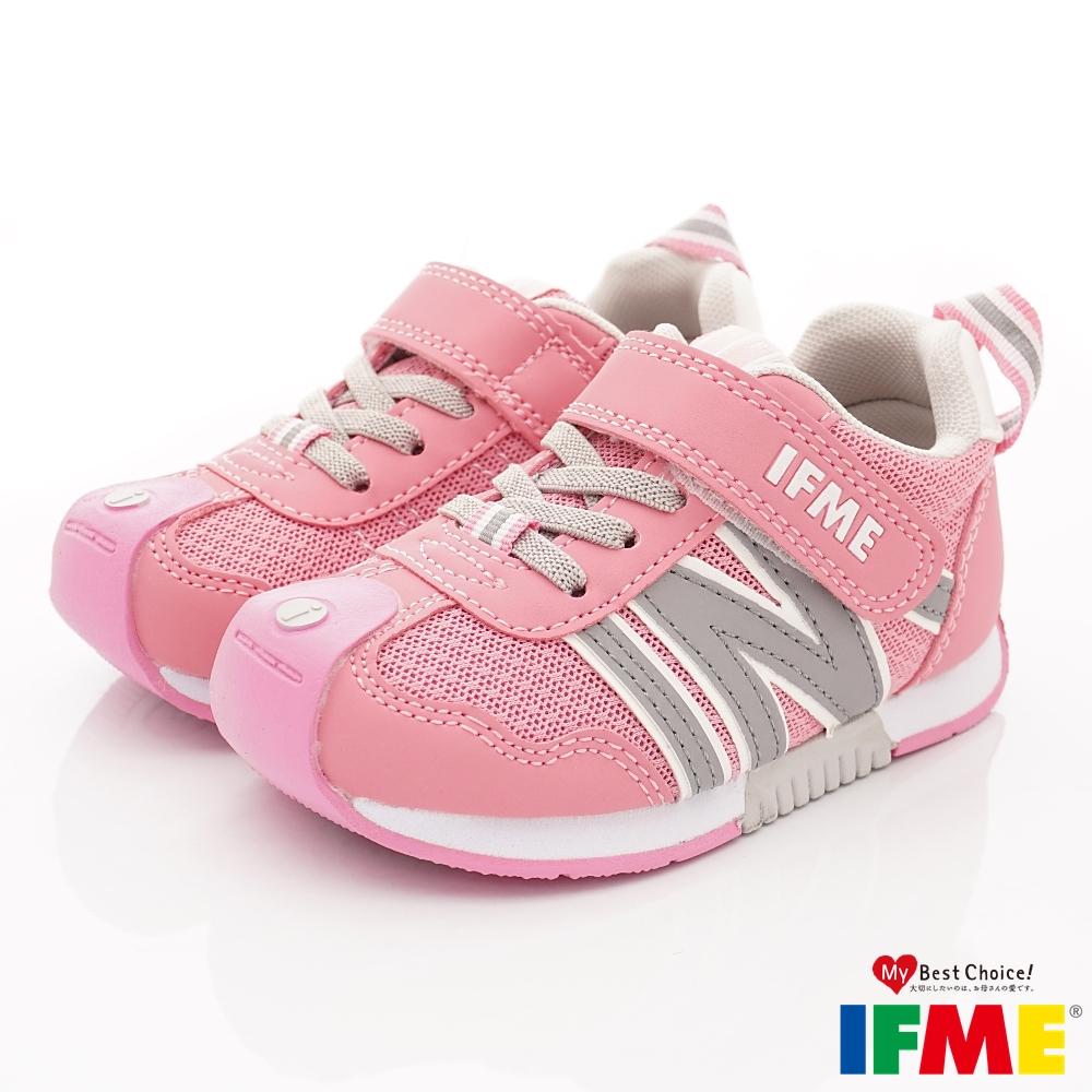 IFME健康機能鞋 輕量基本運動款 NI00801粉紅(中小童段)