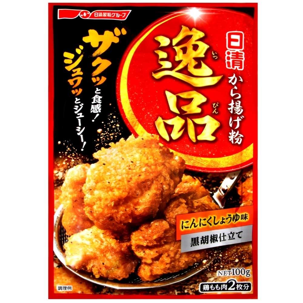 日清製粉 名店逸品-香蒜黑胡椒炸雞粉 (100g)