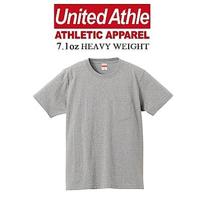 日本United Athle厚磅7.1oz口袋短T 亞規 UA不透膚