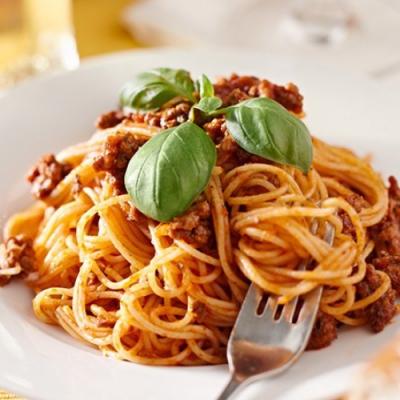 豪鮮牛肉 大份量義大利麵組4種口味任選10組(麵體180g醬料150g)