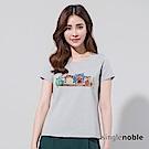 獨身貴族 童年趣味鑽飾貓頭鷹設計T恤(2色)