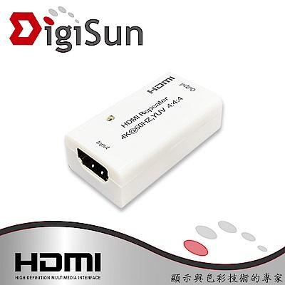 DigiSun EH101 HDMI 2.0 訊號延長中繼器 最遠可延長50公尺