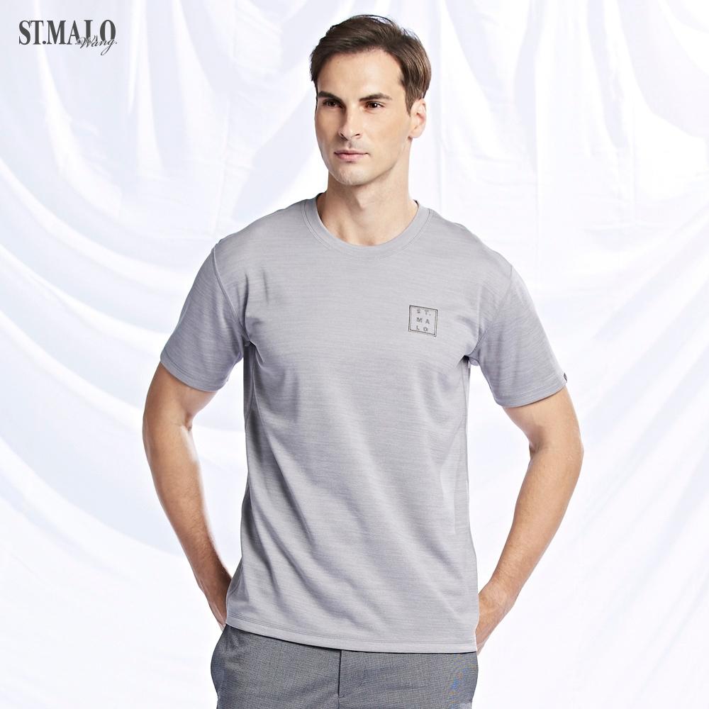 【ST.MALO】美國XT2銀纖維經典99.9%抗菌除臭男上衣(3色)