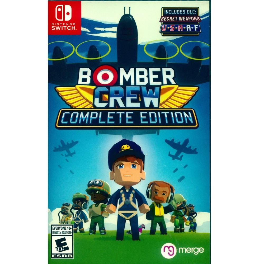 模擬轟炸機小隊 完整版 BOMBER CREW - NS Switch 英文美版