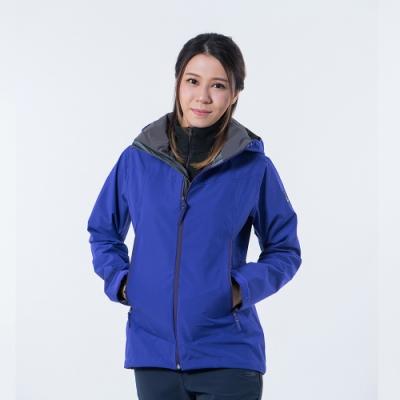 法國【EiDER】女專業Gore-tex 3L 防水連帽外套 / 20EIV5224-葡萄紫