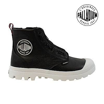 Palladium Pampa Hi Lea Zip TPZ女鞋-黑/白