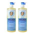 Klorane蔻蘿蘭 寶寶洗髮沐浴精 500ml (壓頭雙瓶組)