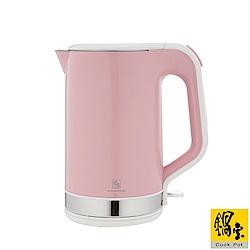 【鍋寶】雙層316快煮壺-1.8L 粉 KT-97182P