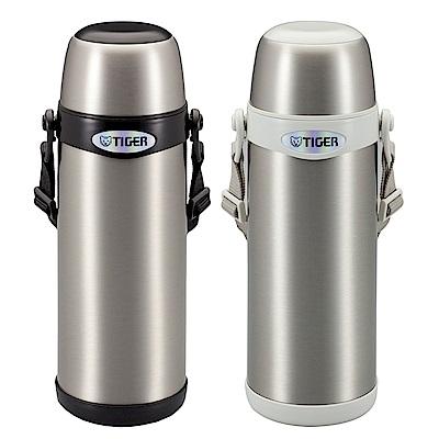 虎牌 不鏽鋼經典背帶式保溫保冷瓶0.8L