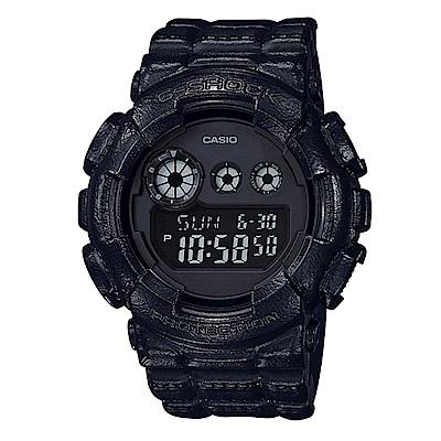 G-SHOCK席捲潮流風格再現皮革造型概念錶(GD-120BT-1)51mm