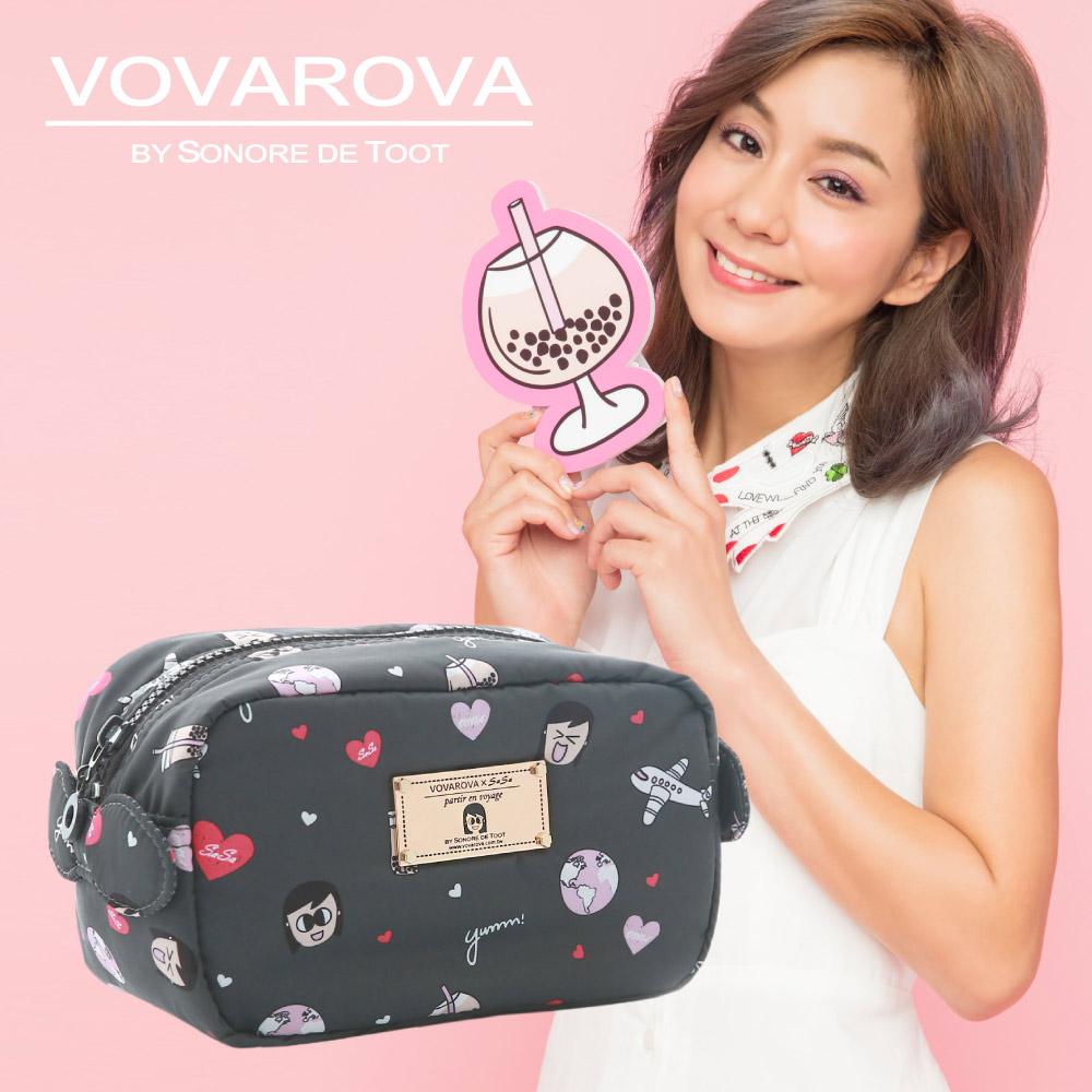 VOVAROVA x 莎莎-裝不滿化妝包-福爾摩莎-環遊世界系列