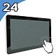 Nextech 24吋 觸控電腦 (i7-7600U/8G/128G) product thumbnail 1
