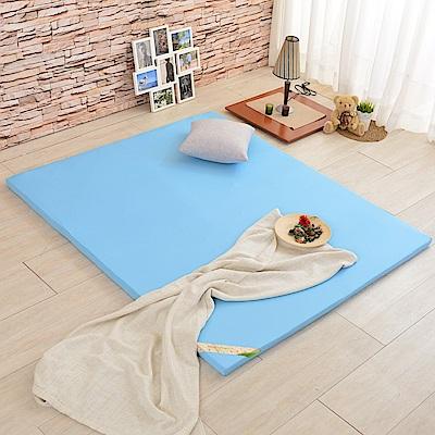 (618限定)單大3.5尺-LooCa 吸濕排汗HT5cm乳膠舒眠床墊