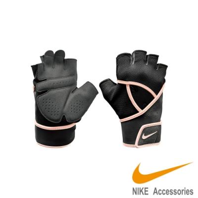 NIKE WOMEN S GYM 女用運動 訓練 高階手套 黑粉 NLGC6062