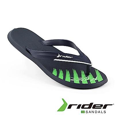 Rider 巴西 男 R1 ULTRA AD 撞色夾腳拖鞋 藍白綠色