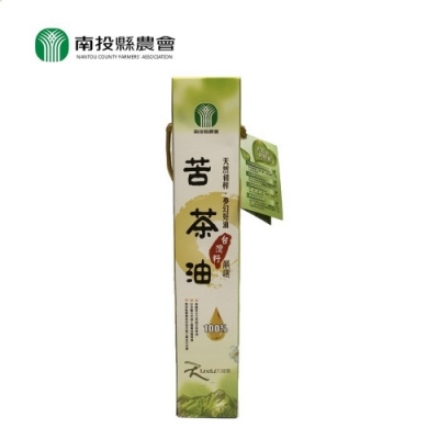 【南投縣農會 】台灣籽苦茶油(375ml)