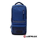 【AIRWALK】城市探索兩用後背包-藍色
