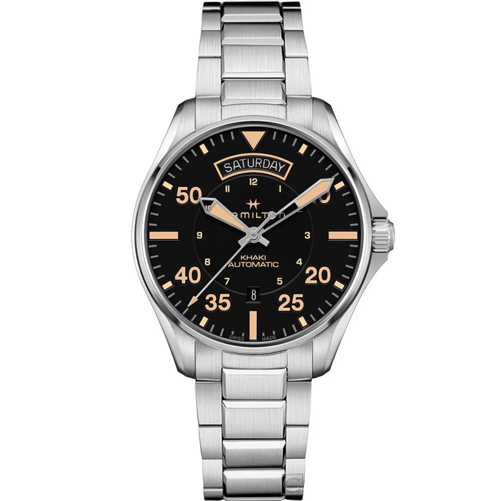 Hamilton 卡其系列DAY DATE 機械腕錶(H64645131)