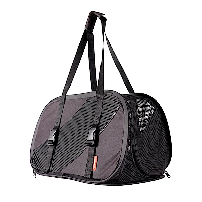 IBIYAYA依比呀呀-FC1702極簡休閒寵物包-黑