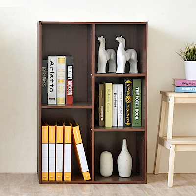 《HOPMA》DIY巧收可調式粉彩五格櫃-單入-寬62 x深30 x高90cm