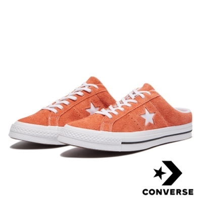 CONVERSE ONE STAR 男女拖鞋 162069C 橘