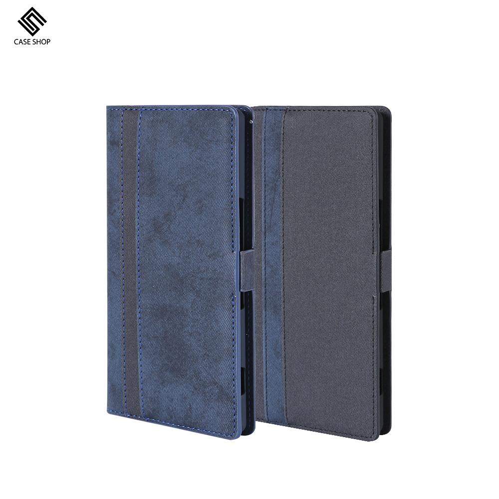 CASE SHOP Sony Xperia 1 專用雙層收納側掀站立式皮套