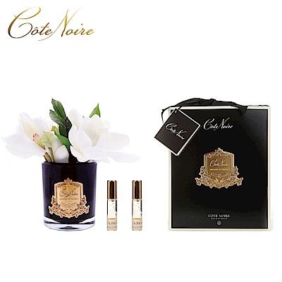 法國 CoteNoire 蔻特蘭 木蘭花香氛花黑瓶