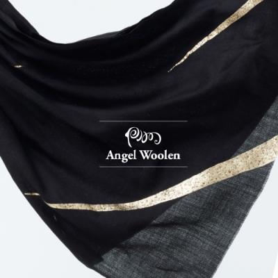【ANGEL WOOLEN】時尚印度手工水鑽披肩(共兩色)