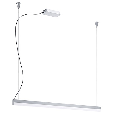EGLO歐風燈飾 現代白橫桿式吊燈
