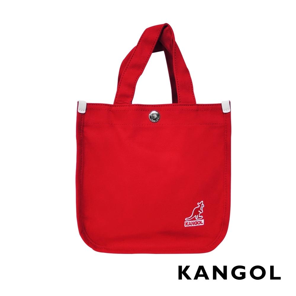 KANGOL 韓版極簡玩色-MINI帆布斜背小方包-多色任選 AKG1215 product image 1