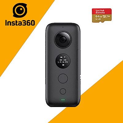 INSTA360 ONE X 全景相機 (公司貨) 贈送SD64G/160MBs卡